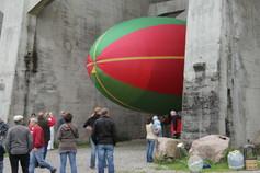 Luftschiff als Modellballon