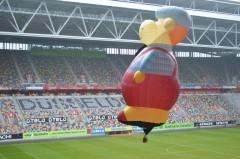 Modellballon in ESPRIT ARENA Düsseldorf