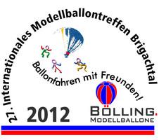 Internationales Modellballontreffen Brigachtal LOGO